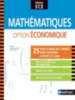 MATHEMATIQUES OPTION ECONOMIQUE PREPA ECE 2013